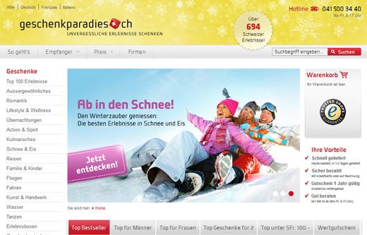 Conversion-Optimierung bei geschenkparadies.ch – Erfahrungsbericht Teil 4 von 4