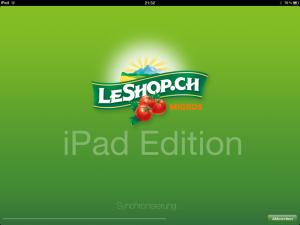 LeShop Startscreen