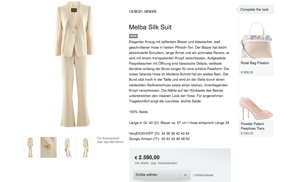 Zalandos Premium Ableger EMEZA oder warum teuer alleine nicht reicht im E-Commerce