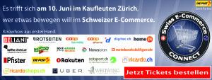 Countdown läuft: Swiss E-Commerce Connect, Award und Party