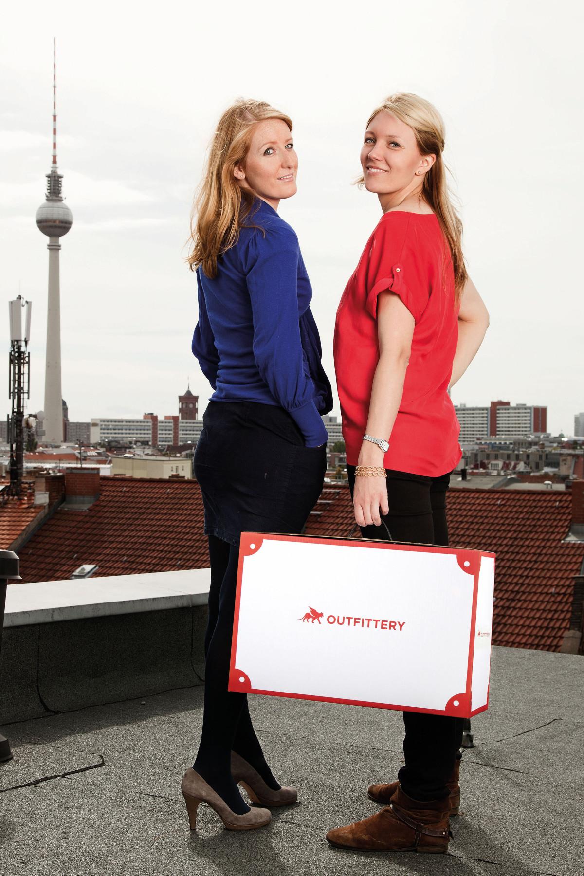 Julia Bösch und Anna Alex - Gründerinnen von Outfittery