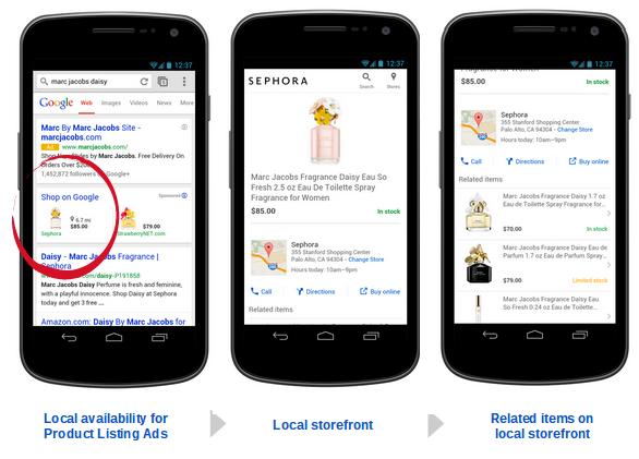 Google Shopping bald auch für den stationären Handel
