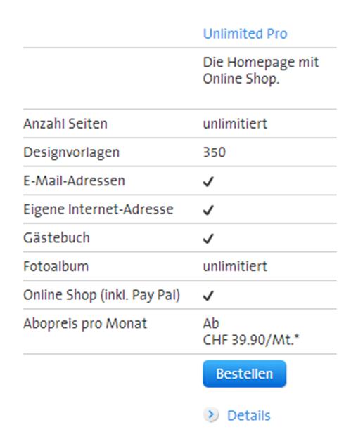 E-Commerce-Demoshop by Swisscom – Klicken auf eigene Gefahr