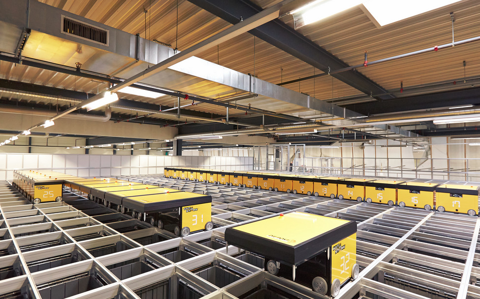 Logistik ist Key: Post nimmt Yellowcube in Betrieb