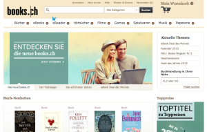 Gleichschaltung im Schweizer Online Buch- & Medienmarkt (books.ch = buch.ch = thalia.ch)