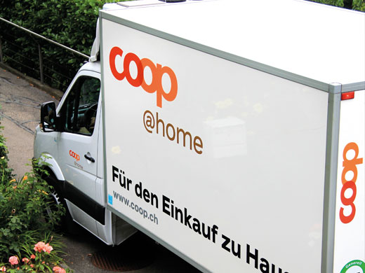 coop@home liefert mit der eigenen Flotte aus