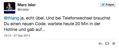 Tweet von @misler zu 3D-Secure