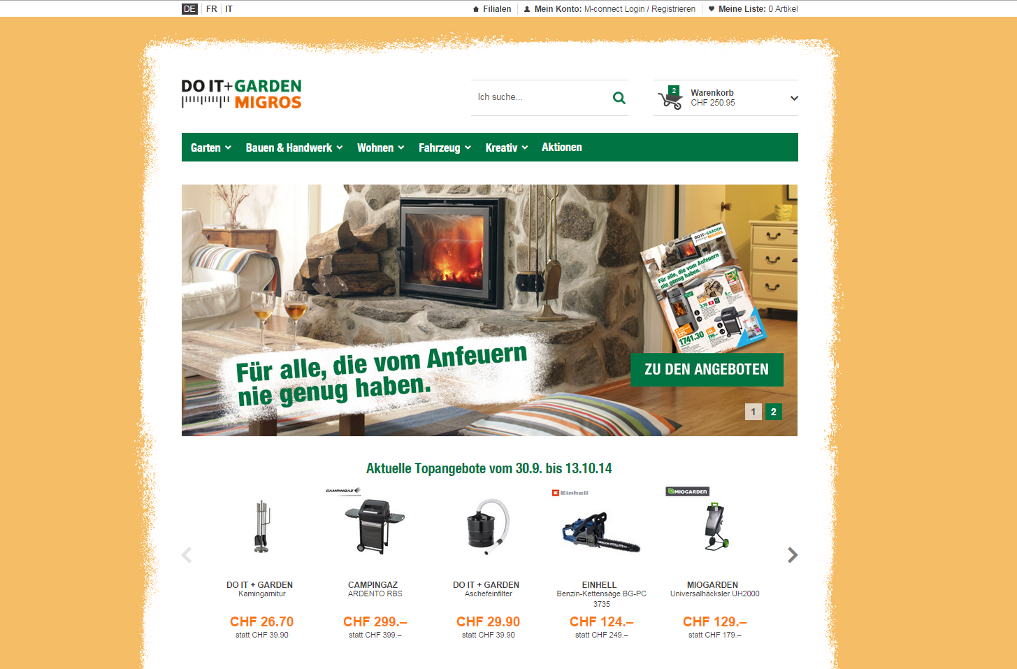 baumarkt rallye migros zieht mit do it garden nun. Black Bedroom Furniture Sets. Home Design Ideas