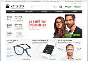 misterspex.ch - am 31.3.2015 in der Schweiz gestartet