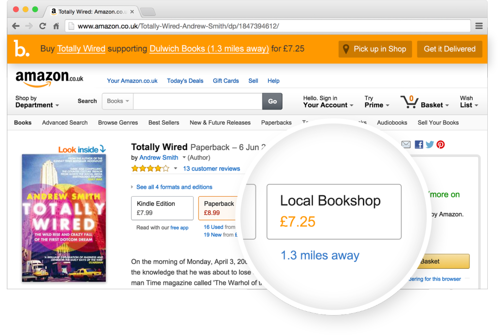 Bookindy in Action – Screenshot