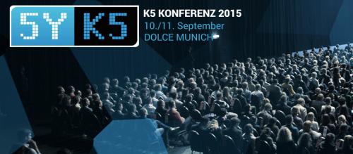 K5 Konferenz 2015 München