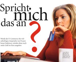 Die richtige Ansprache von Frauen im E-Commerce – Horizont Report
