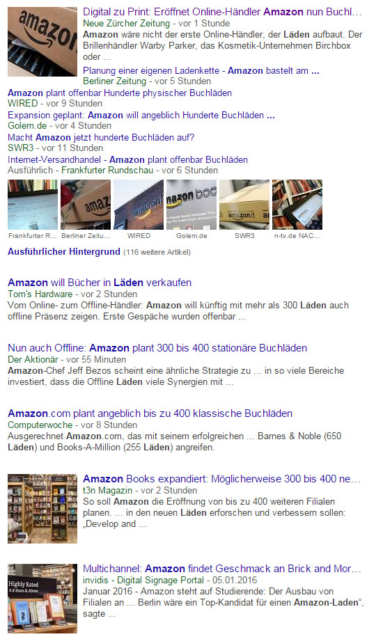 News zu Amazon Gerücht - Screenshot 3-Feb-2016