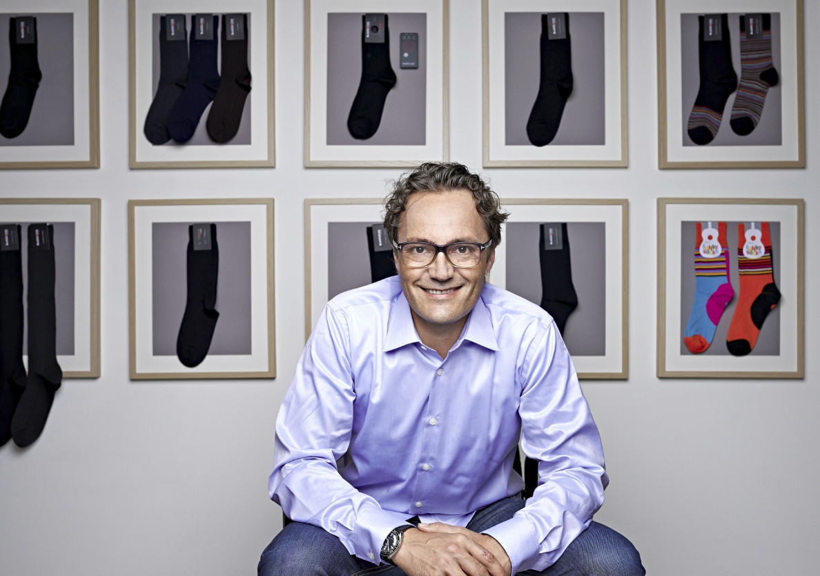 Samy Liechti, Gründer von Blacksocks.com