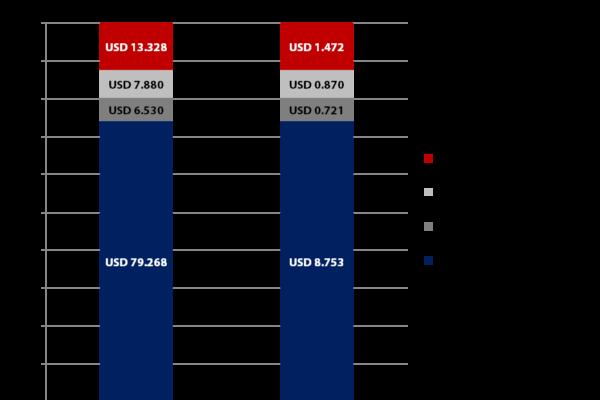 Amazon Umsatzzahlen im Splitting - Quelle: US SEC - Grafik: Carpathia AG