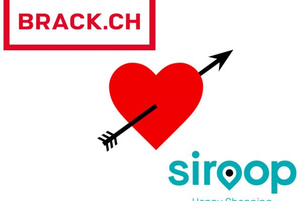 Siroop und BRACK.CH – eine Love Story ?