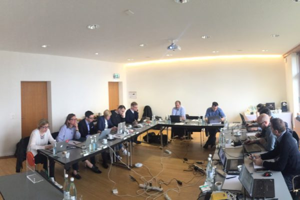 Die unabhängige Jury am grossen Jury-Tag am GDI in Zürich