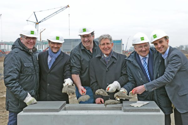 Grundsteinlegung zum neuen Zalando Logistik-Zentrum in Lahr am 16-Feb-2016 - Quelle: Zalando