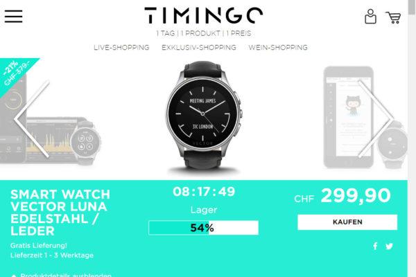 Timingo – Liveshopping nach wie vor beliebt