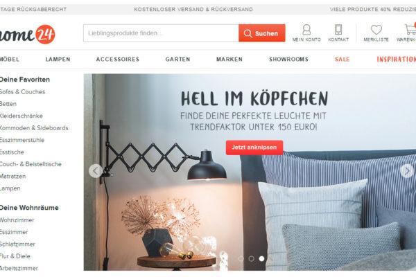 Massives Umsatzwachstum bei Möbeln im deutschen E-Commerce