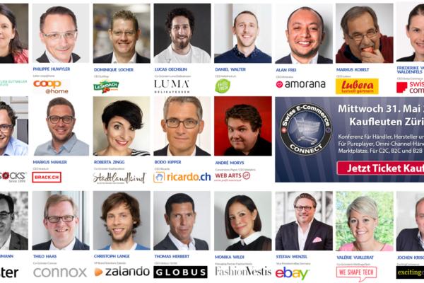 E-Commerce Connect Konferenz - Bestätigte Speakerinnen und Speaker per 22-Jan-2017