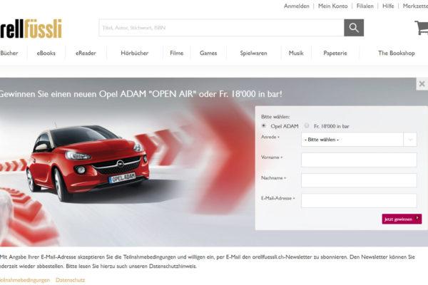 Startseite von orelfuessli.ch