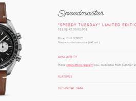 Omega #SpeedyTuesday