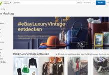 (Screenshot: eBay Luxury Vintage)