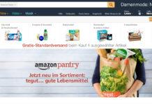 Amazon Pantry mit tegut Sortiment