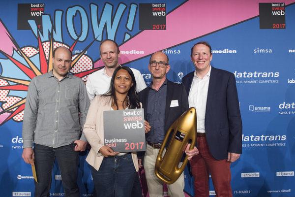 Best of Swiss Web 2017 – Eine Übersicht mit Fokus auf E-Commerce