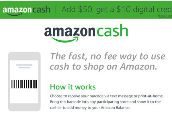 Amazon Cash oder wie Amazon den Detailhandel zur Einnehmerei degradiert