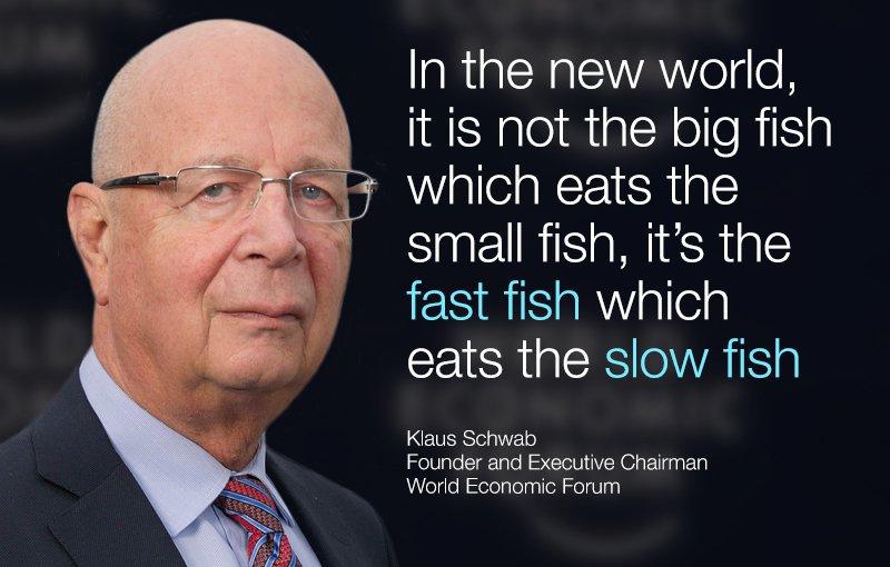 Klaus Schweb, WEF, 2015 - Quelle: Twitter