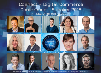Auswahl Speaker 2018 der Connect - Digital Commerce Conference