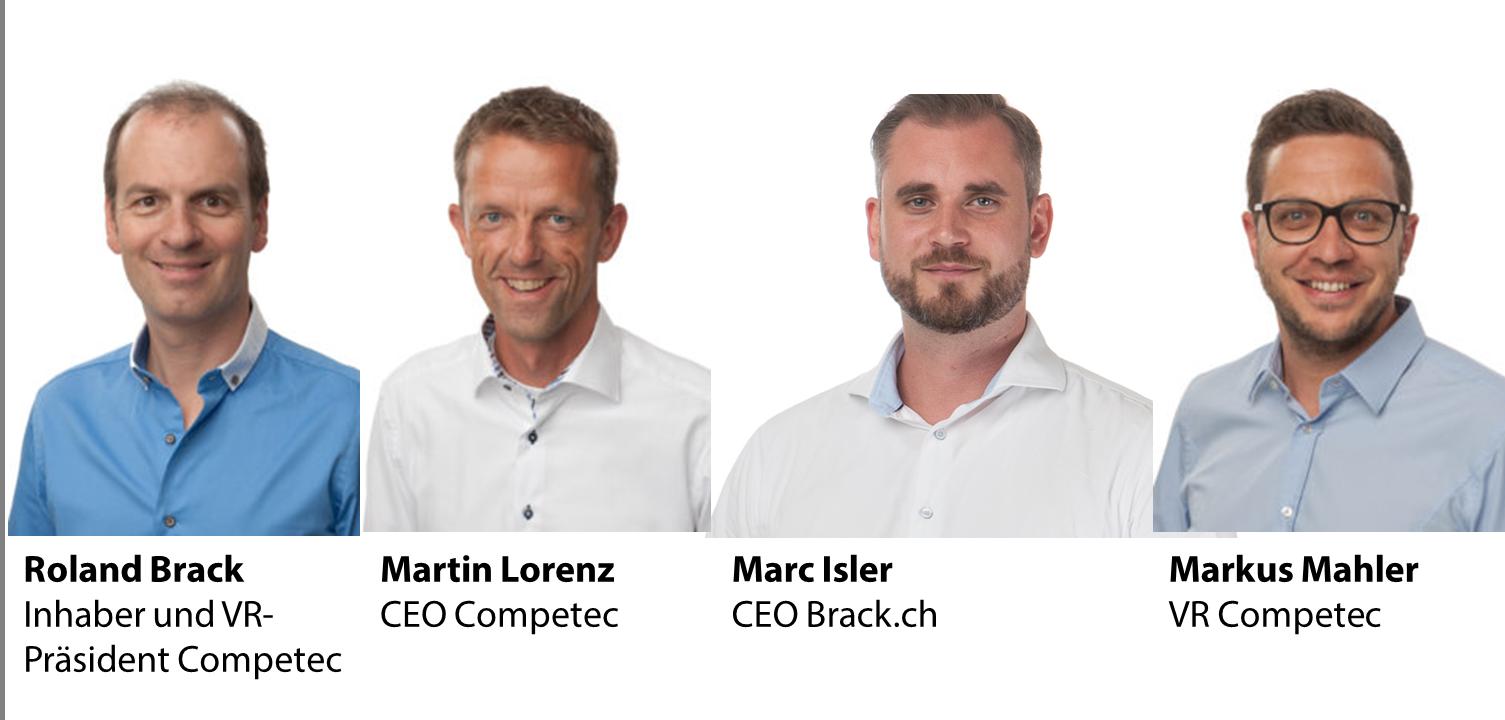 Veränderte Unternehmensleitung und VR bei Competec (Alltron und Brack.ch)