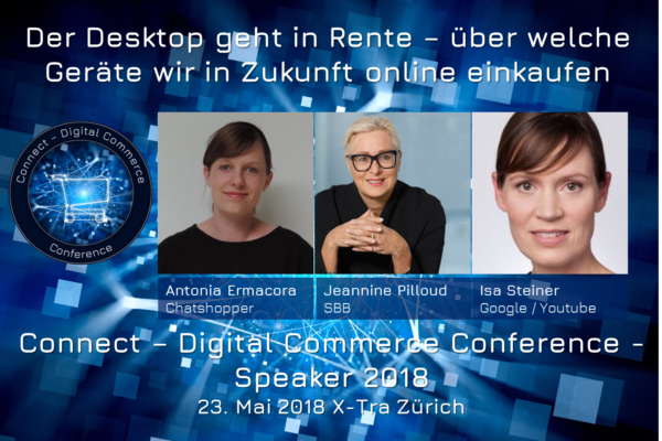 #allfemailepanel an der Connect - Digital Commerce Conference