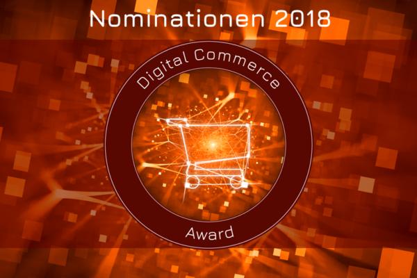 Nominationen Digitla Commerce Awards 2018