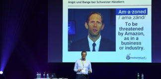 Dr. Jan Bomholt, CEO meinEinkauf.ch - an der Connect - Digital Commerce Conference 23. Mai 2018 in Zürich