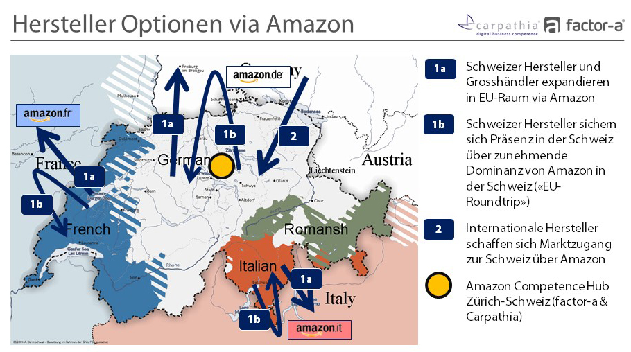 "Hersteller Optionen via Amazon inkl. ""EU-Roundtrip"" - Quelle: carpathia.ch/amazon"