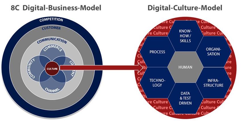 Das Carpathia 8C Digital Business Model führt nahtlos in das Digital Culture Model
