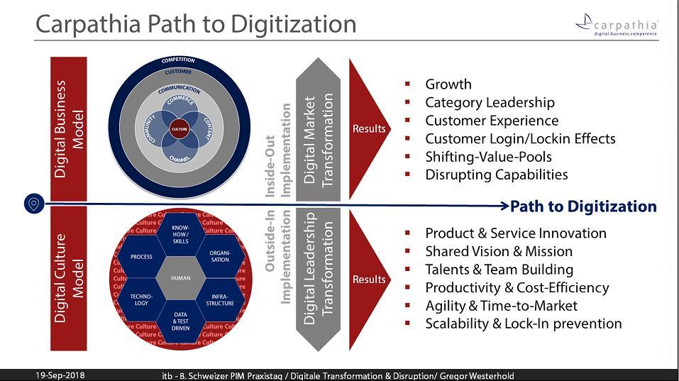 Carpathia Path to Digitalization – Carpathia Path to Digitalization – erfolgreiche Digital Market und Digital Leadership Transformation
