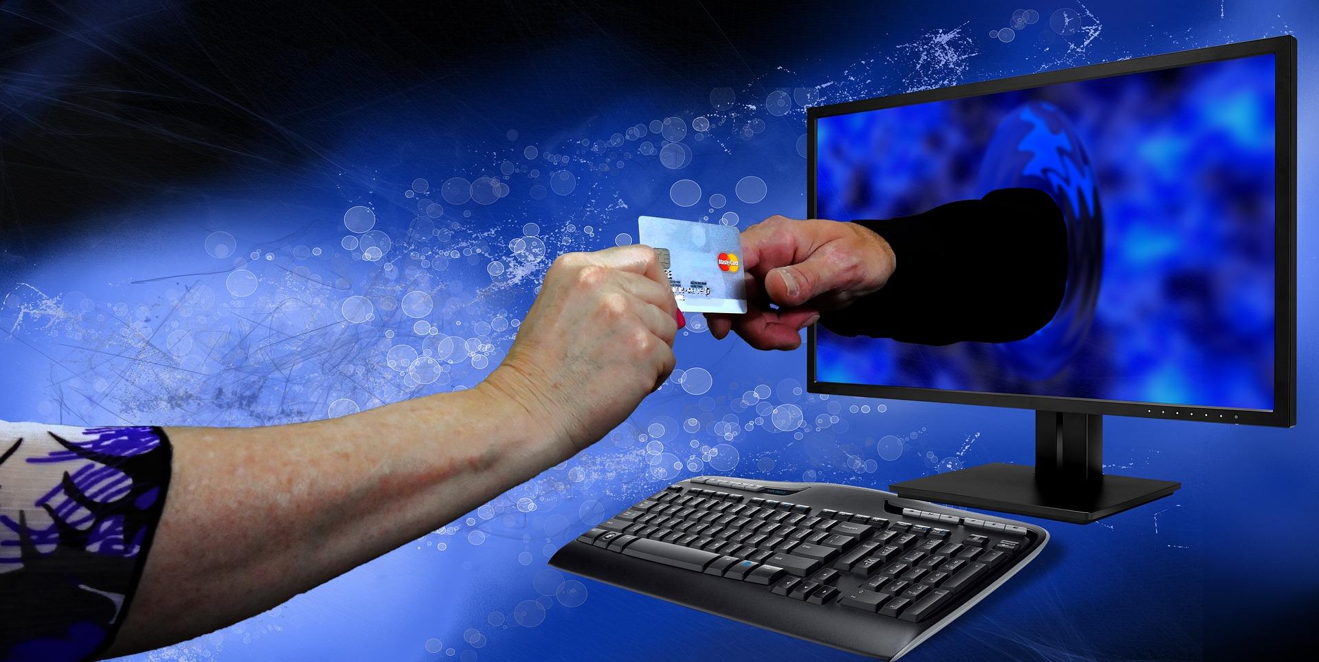 Online zahlen mit Kreditkarte - Bildquelle: pixabay.com