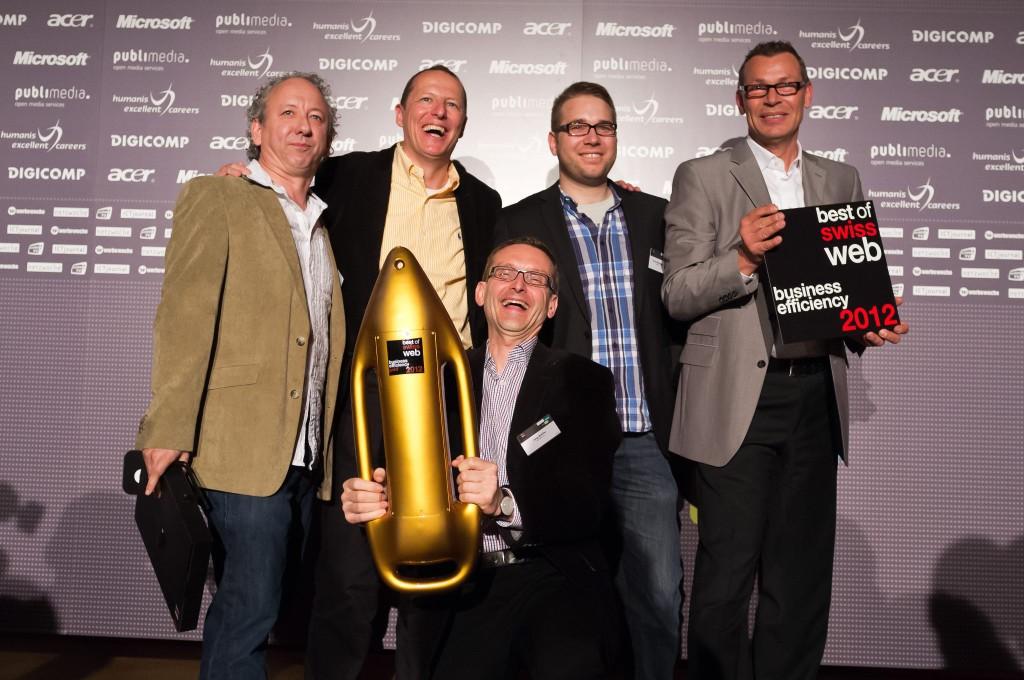 Ex Libris Multi-Channel Services - Gewinner der Kategorie Business Efficiency am Best of Swiss Web 2012