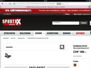 SportXX – Migros' neuer Onlineshop für Sportartikel im Review