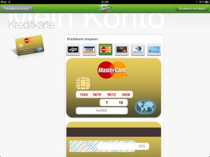 LeShop Kreditkarten Erfassung