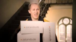 Zalando-Spots rücken die Logistikleistung ins Zentrum des einkaufserlebnisses.