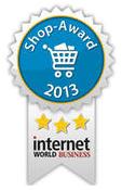 Internetworld Business Shop Award 2013