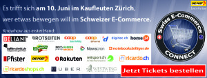 Countdown läuft: Swiss E-Commerce Connect, Award und Party