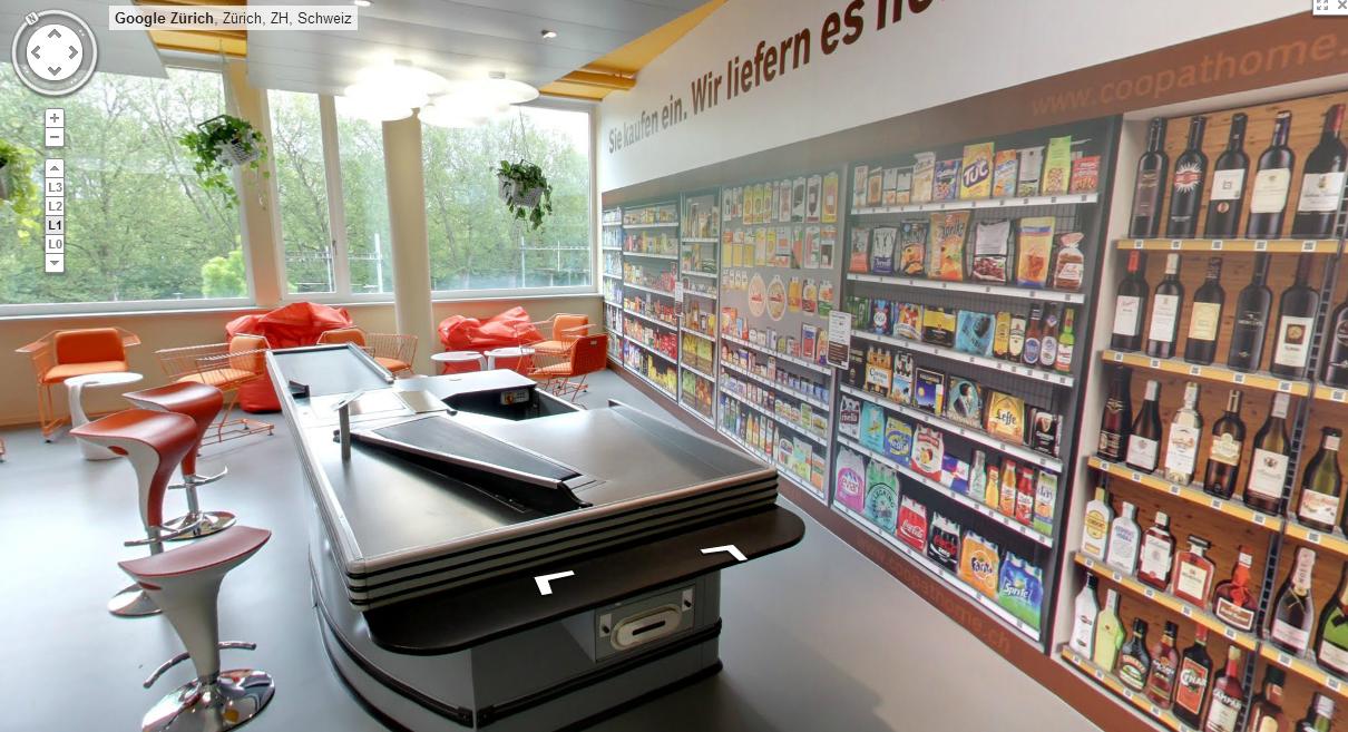 coop@home: Neuer virtueller Supermarkt im Zürcher HB