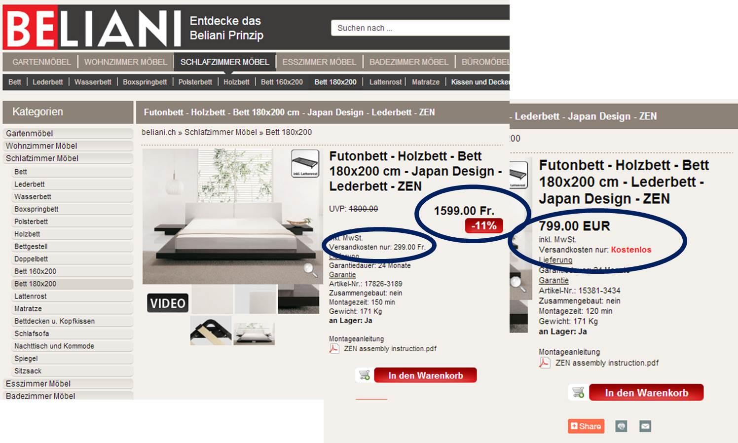Herausforderungen im Möbel Onlinehandel
