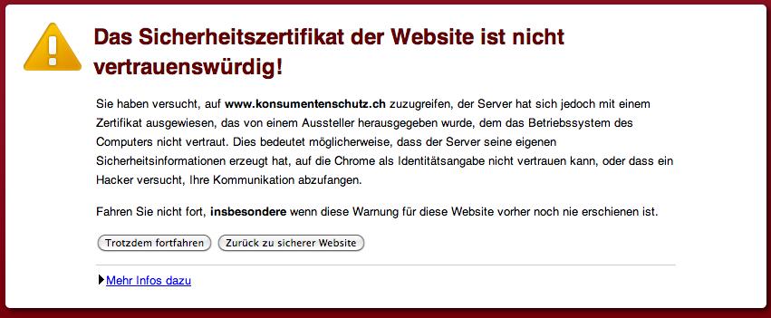 konsumentenschutz.ch SSL